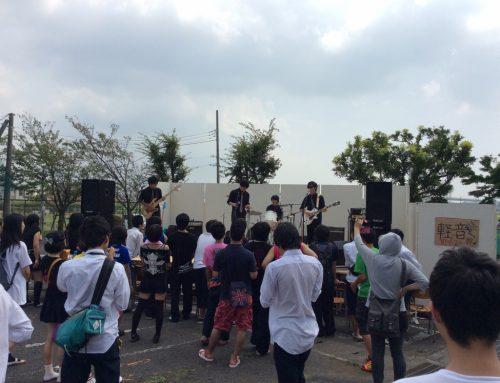 PA&バンドセットレンタル@神奈川県立寒川高校の文化祭ライブ