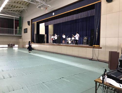 PA機材&オペレート、バンド機材一式レンタル@二宮高校文化祭