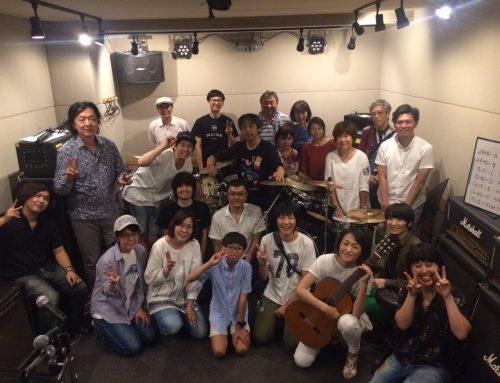 パプリカミュージックスクール ギター&ドラム教室合同練習会レポート