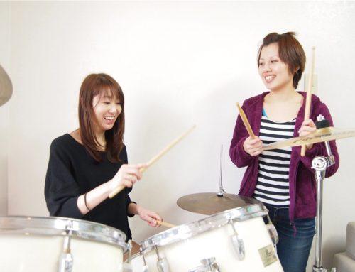 女性講師在籍!平塚駅前のドラム教室ならパプリカミュージックスクールへ!