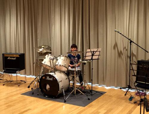 ドラム教室発表会@戸塚