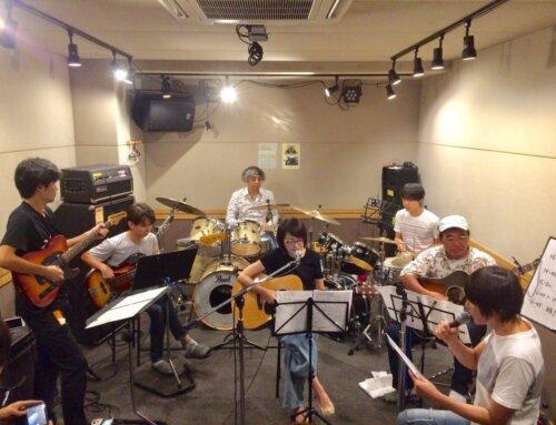 ギター教室&ドラム教室合同練習会@パプリカミュージックスタジオ平塚 第二弾