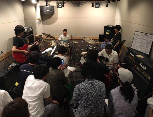 ギター&ドラム教室合同練習会@パプリカミュージックスタジオ平塚